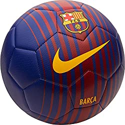 Nike PRSTG Balón Línea FC Barcelona, Unisex Adulto, Azul (Deep Royal/Noble Red/University Gold), 5