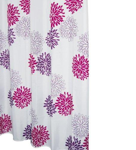 Ridder 403060 Duschvorhang Textil ca. 180 x 200 cm, - Duschvorhang Lila