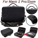 DJI Dajiang Royal Mavic drei elektrische Aufbewahrungstasche Handtasche Koffer Aufbewahrungsbox Portable 1680D Nylon Schutzhülle EVA harte Tasche geeignet für MAVIC 2 Pro / Zoom (Black)