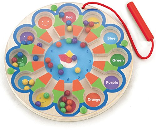 Viga Toys - Magnetspiel - Uhr & Farben