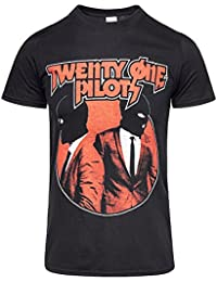 21 Twenty One Pilots T Shirt Incognito band logo Official Mens Black