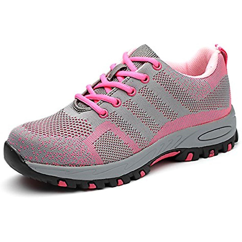CHNHIRA Femme Chaussure de Sécurité Respirante Chaussures Chaussures Chaussures de Travail Unisexes Semelle de Protection - B07FC7FDXR - 29f902