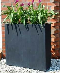 pflanzk bel trennelement fiberglas elemento anthrazit garten. Black Bedroom Furniture Sets. Home Design Ideas