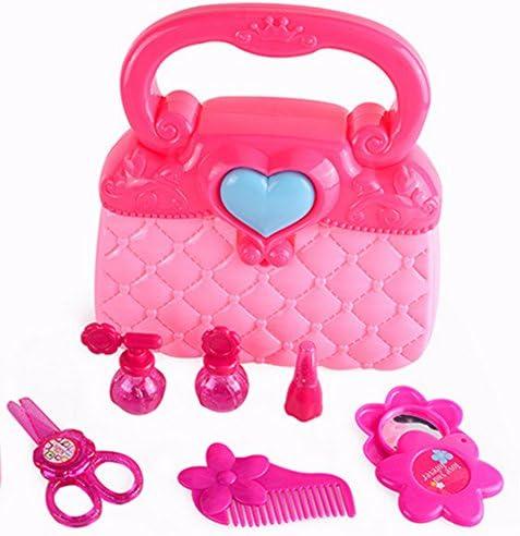 361bcf88fa03 Runfon Jouet de Maquillage de Stimulation Rose Maquillage Rose Stimulation  Princesse Ensemble Jouet Cadeau pour Les s B07G41SKSD a43dd2