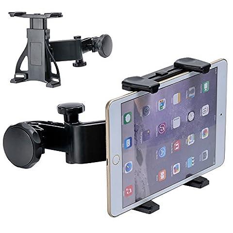 KINGSTAR 360° réglable Support voiture iPad 17,8–25,9cm Support pour Tablette Universel pour siège auto Appuie-tête