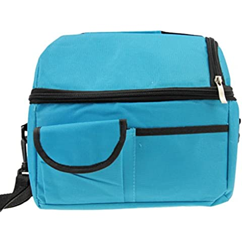Greenery Waterproof Extra Large Cooler Cool Bag Box Picnic Camping Food Drink Lunch Festival Shopping (Ice Cooler Bag)