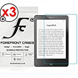 Forefront Cases® Tolino Epos eBook Reader 7,8'' Zoll [HIGH DEFINITON HD KLARHEIT] Displayschutzfolie Schutzfolie Screen Protector Folie (Packung mit 3)