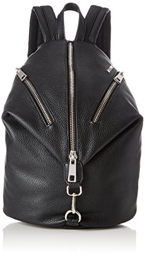 Replay Womens Womens Faux Leather Black Backpack Nero (Black)