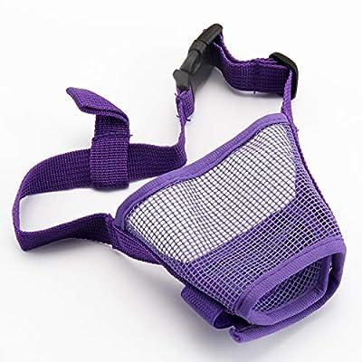 Shoze Dog Safety Muzzle Nylon Soft Dog Anti Biting,Adjustable Mask from Shoze
