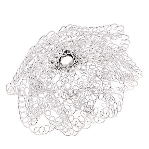 KESOTO Moderne Kreisförmige Deckenleuchte Pendelleuchte Lampenschirm Tischlampenschirm für Schlafzimmer/Wohnzimmer - Typ 6 - Lampenschirme Kreisförmige
