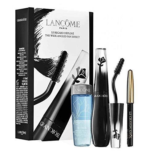 LANCOME HYPNOSE Grandiôse EXTRÊME Mascara in Black 10g + BI-FACIL 30ML + MINI CRAYOL KHOL BLACK