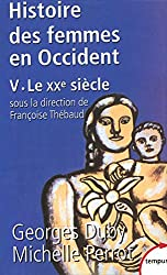 Histoire des femmes en Occident, tome 5 : Le XXe siècle
