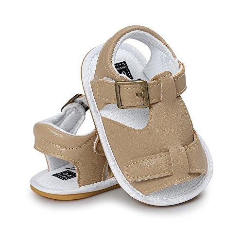 (SUCES Sandalen Kinderschuhe Kleinkind Anti-Rutsch Freizeitschuhe Jungen Weiche Sandelholze Mode Sommer Schuhe Outdoor Sneaker Baby Sandalen Lauflernschuhe)