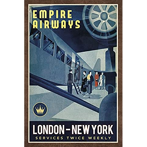 Collection Caprice – Empire Airways Artistica di Stampa (40,64 x 60,96 cm)
