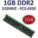 1 GB 240 pin DDR2-533 (533Mhz, PC2-4200U, CL4) NON ECC, unbuffered für DDR2 Mainboards - 100% kompatibel zu 400Mhz, PC2-3200U, CL3