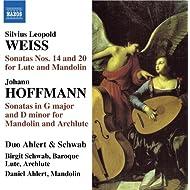 Weiss: Lute Sonatas Nos. 14 & 20 / Hoffman: Mandolin Sonata In G Major / Mandolin Sonata In D Minor