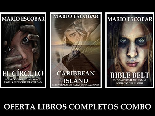 El Círculo, Caribbean Island y Bible Belt: (Pack tres libros) (Spanish Edition) (Belt-packs)
