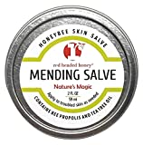 red headed honey's Propolis and Tea Tree Oil All Purpose Healing Skin Salve-2 oz tin-Natural Treatment for skin issues
