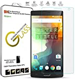 OnePlus Two Tempered Glass, SGM® 2.5 D OnePlus 2 Tempered Glass Screen Protector, Curved Edge 9H Hardness 0.3mm Premium High Definition Screen guard for OnePlus Two