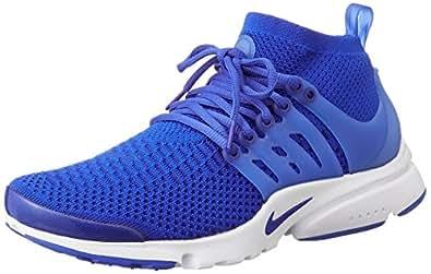 Nike Air Presto Flyknit Ultra, Men's Running Shoes, Blue
