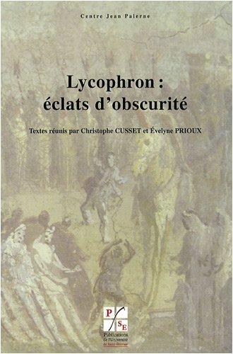 Lycophron : éclats d'obscurité