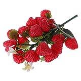 Cold Toy Erdbeere Deko Kunstobst Kunstgemüse künstliches Obst Gemüse Dekoration