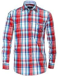 Casamoda - Camisa regular fit de manga larga para hombre