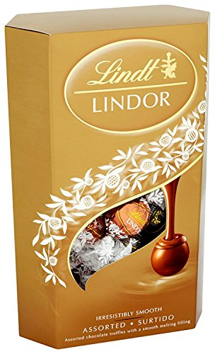 Lindt Lindor Assorted Chocolate Cornet 337 g (Pack of 2)