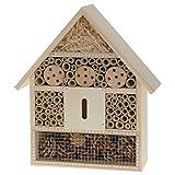 Hôtel à insectes 30 x 26 cm- Bois - Jardin
