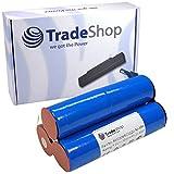 Trade-Shop Hochleistungs NI-MH Akku 7,2V / 3000mAh für Wolf BS80 BS-80 Strauchschere Accu Battery