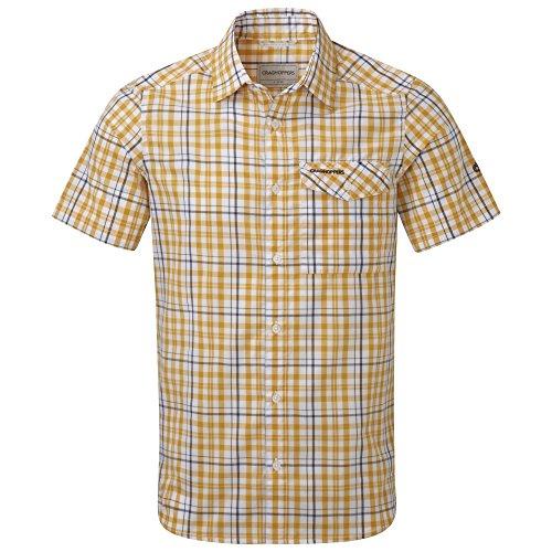Craghoppers Lomand - Chemise à carreaux à manches courtes - Homme Chilli Combo