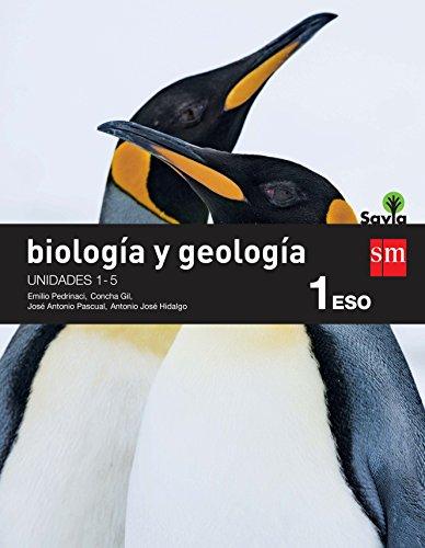 Biología y geología. 1 ESO. Savia. Trimestres  - Pack de 3 libros - 9788467583397
