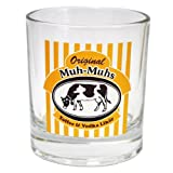 Original Muh-Muhs Toffee & Vodka Likör Glas, klar, Becherglas, 200 ml