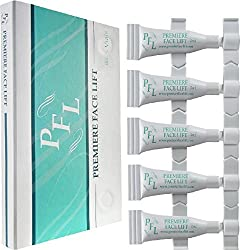 Become Ageless Instantly with Premier Face Lift - Remove Wrinkles, Bags, Lines, Puffiness & Dark Circles Instantly -5 Vials 1ml Each - 5ml Total -Powerful Anti-Wrinkle Microcream Compared to Jeunesse