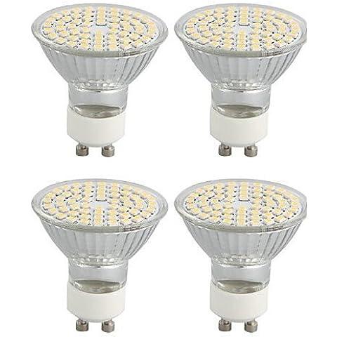E&T/ Faretti LED 60 SMD 3528 / Girevole GU10 4W