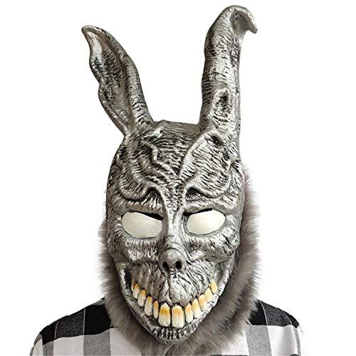Donnie Darko Kostüm - Puurbol Horror Hase Maske Kostüm Maskerade Party Donnie Darko Cosplay Halloween Für Erwachsene und Jugendliche