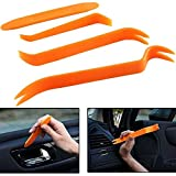 4pcs Car Radio Panel Trim Dash Car Audio Removal Tool Door Body Clip Plastic Pry Tool Kit