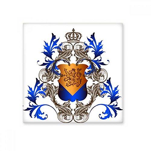 Mittelalter Ritter Europas Krone Emblem Shield Keramik Bisque Fliesen Badezimmer Decor Küche Keramik Fliesen Wand Fliesen, sku00213312f16088-M
