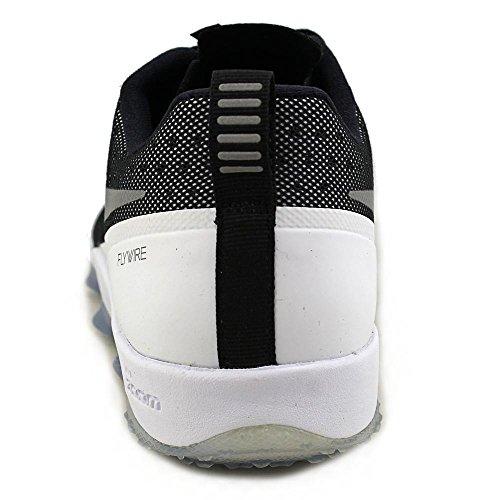 Nike Zoom Hypercross Tr2, Chaussures de Sport Homme, Taille Noir, argenté, blanc, gris (Black / Mtllc Slvr-Cl Gry-White)
