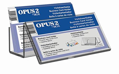 OPUS 2 350091 Visitenkartenhalter für Rezeption