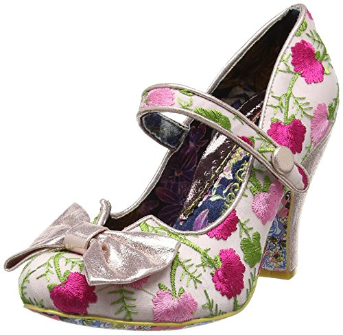 Irregular ChoiceFancy This - Mary Jane donna , rosa (Pink (Pink Floral)), 39