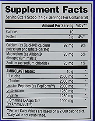 Gaspari Nutrition Aminolast Powder Supplyment from Gaspari Nutrition