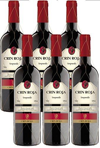 Crin Roja Tinto Tempranillo 2014 Trocken (6 x 0.75 l)