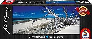 Schmidt Spiele 59362 - Mark Gray, Islandia Verde - Queensland, Australia, 136 Piezas, Rompecabezas clásico