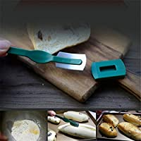 European Bread Arc Curved Bread Knife Western-style Baguette Cutting French Toas Cutter Prestrel Bagel kitchen Tools PC678786