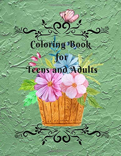 Coloring Book for Teens and Adults -