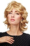 WIG ME UP - Damenperücke Perücke wellig voluminös mittellang Goldblond blond 81437-24B