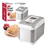 513hZfJ3H3L. SL160  - BEST BUY #1 Quest Benross 12 Program Bread Maker with 13 Hour Timer, 610 W, White Reviews and price compare uk