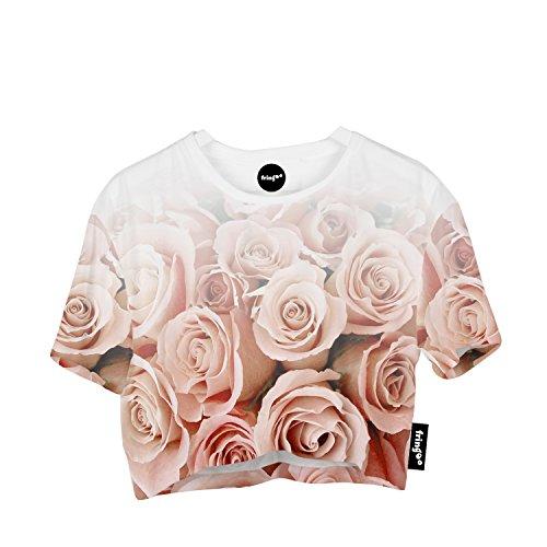 Fringoo - Canotta -  donna Roses Ombre - Tee