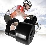 Swiftswan Maniglia per bici classica Campana in plastica leggera con suono croccante Bell Horn